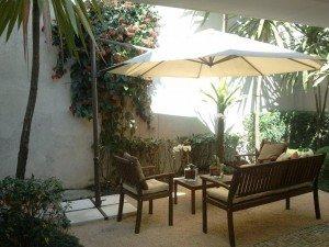 Eu particularmente gosto muito de jardins tropicais, cuja principal característica é a utilização de espécies de regiões litorâneas ou bem húmidas