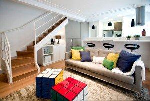 abuse das almofadas e futtons na decoração da sua casa