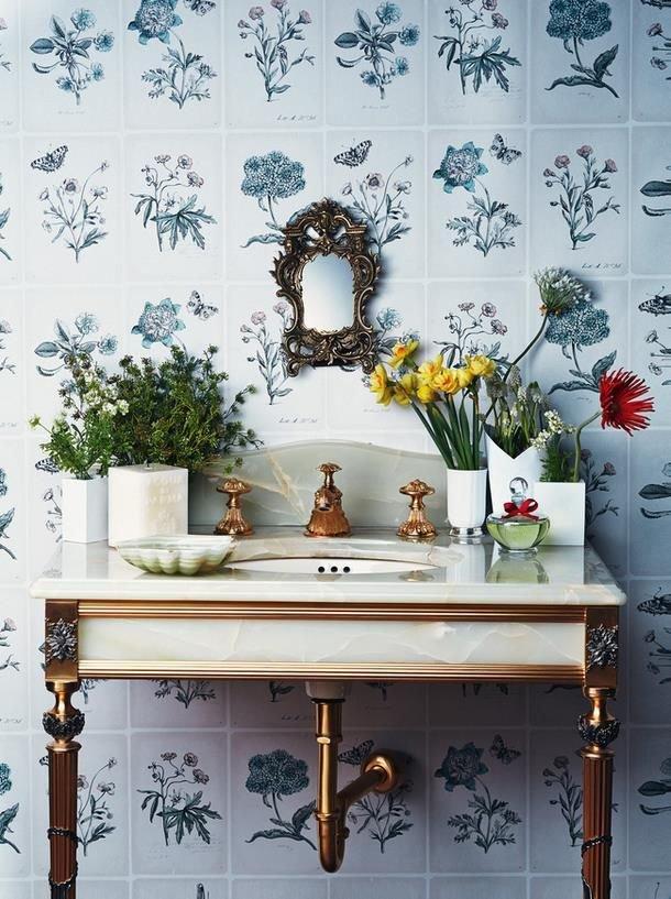 decoracao de lavabo para o natal : decoracao de lavabo para o natal:Sugestões de decoração para lavabos, o banheiro usado pelas visitas