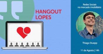 Thiago Stuepp no hangout da Lopes sobre redes sociais de nicho