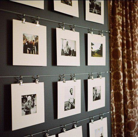 Fotos com ganchos e cabos de aço