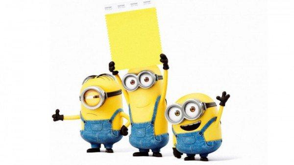 O Amarelo Minion é a primeira cor lançada pela Pantone que tem nome de algum personagem