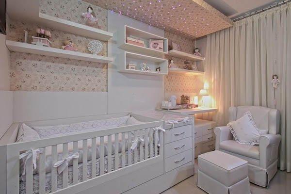 Dicas de decoração para um quarto de bebê ~ Quarto Planejado Com Nichos
