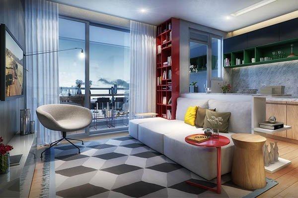 apartamentos_compactos_0000_lancamento-praca-sao-paulo-living-do-apartamento-de-53m2-opcao-cozinha-americana-23