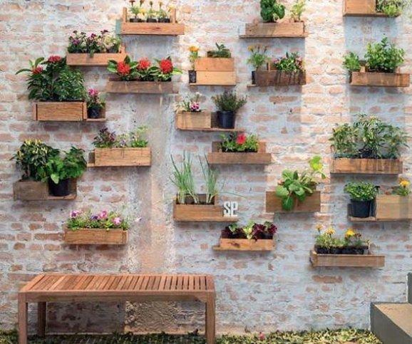 escadas rusticas jardins : escadas rusticas jardins:Como utilizar plantas para compor jardins dentro e fora de casa