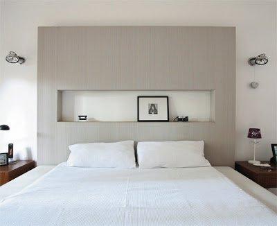 25 ideias de cabeceira para cama de casal lv par - Modelos de cabeceros de cama ...