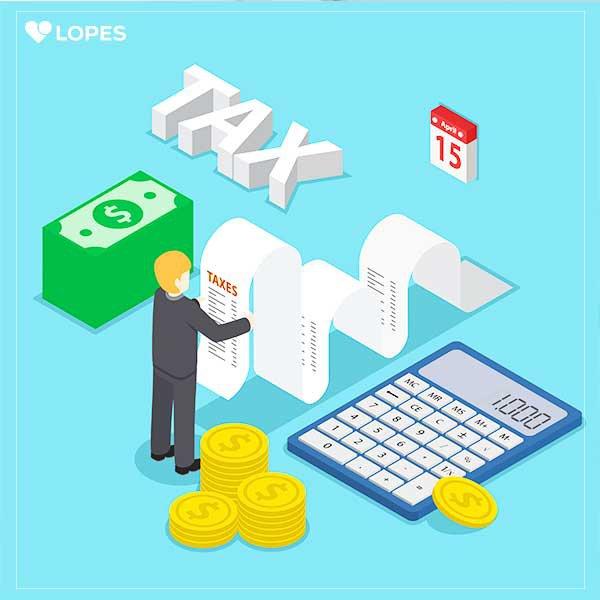tazas impostos calculadora