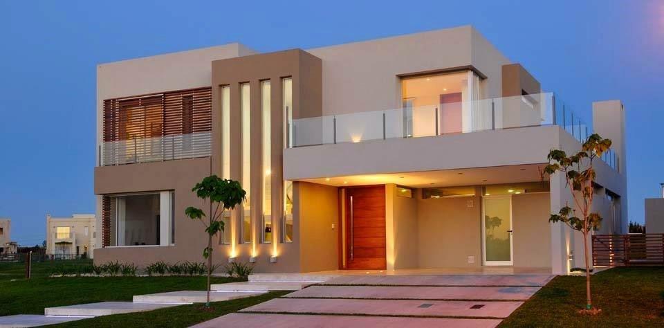Fachadas de casas arquitetura paisagismo e ilumina o for Fachadas de casas para segunda planta