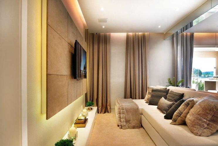 Decora 231 227 O Para Sala De Tv Por Diagonal Arquitetura