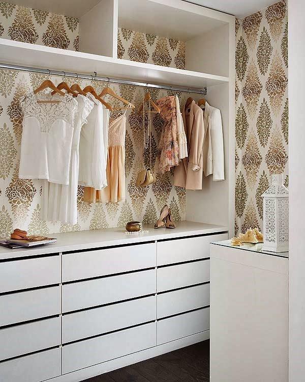 Closet: soluções simples para espaços pequenos!