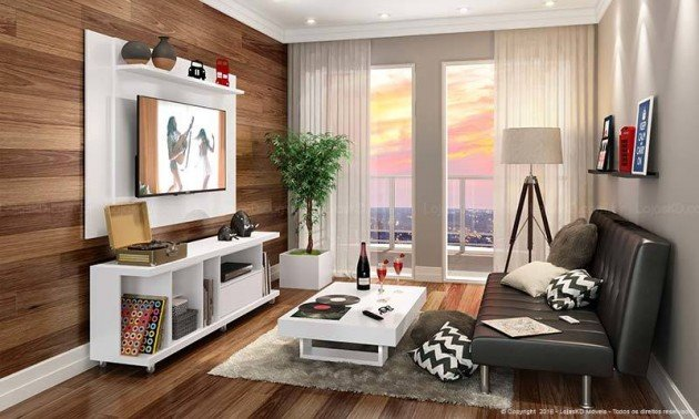 Dicas de como decorar um apartamento pequeno blog da lopes for Como decorar mi apartamento