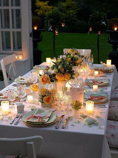 decorar a mesa