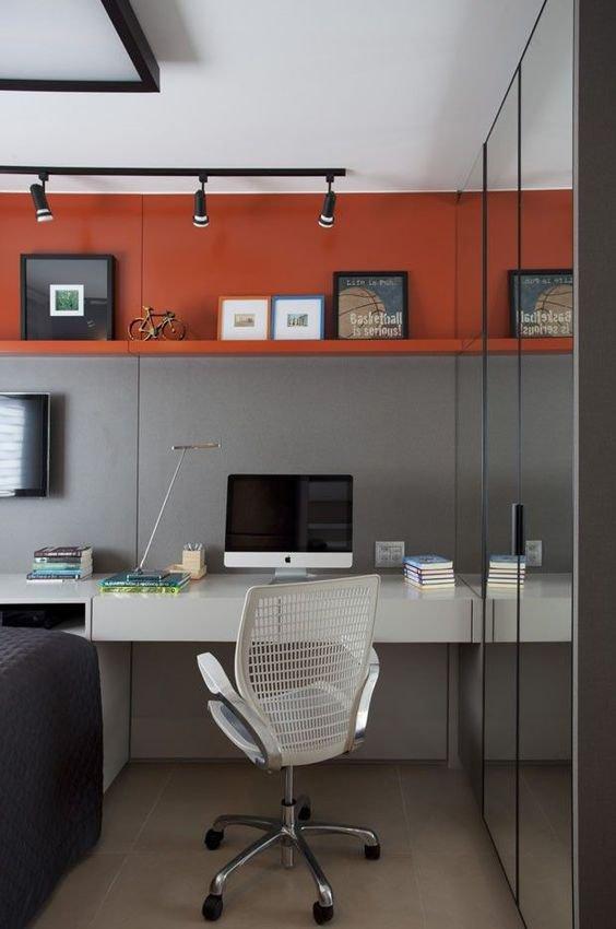 Decoração de Home office: Inspirações para trabalhar sem ...