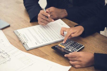 depósito caução assinado junto ao contrato de locação