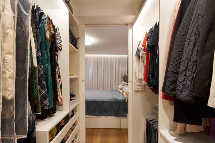 open closet planejado
