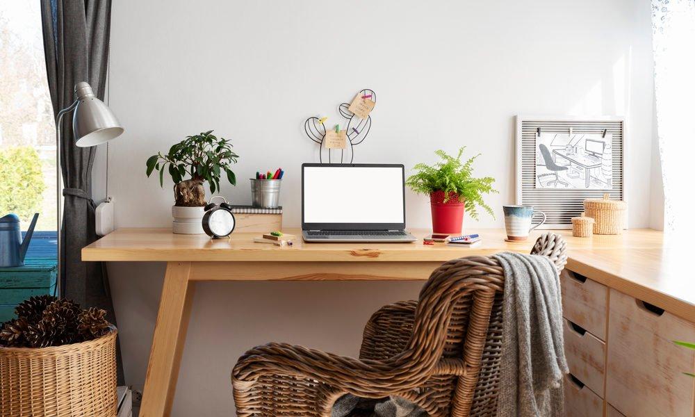 Como montar e decorar seu escritório em casa