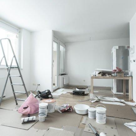 apartamento em obras