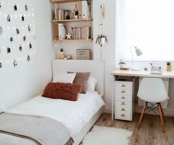 4 ideias para renovar a decoração de um quarto pequeno